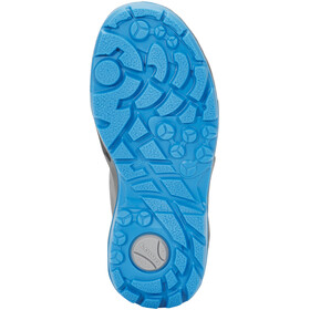 Lowa Diego GTX - Chaussures Enfant - gris/turquoise